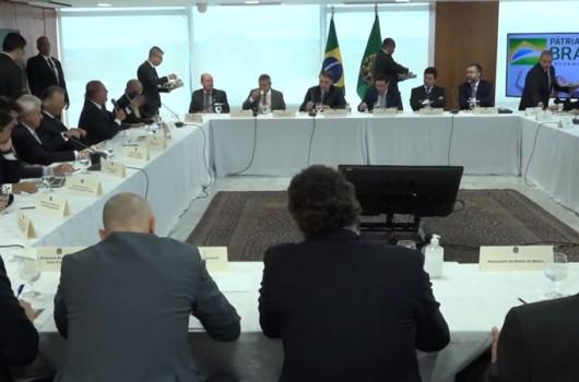 STF libera vídeo de reunião com ministros citada por Moro; assista