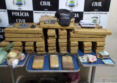 Dois homens são presos com 66 kg de drogas durante operação em Picos