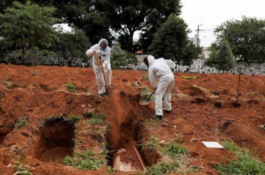 Brasil tem 1.277 mortes por coronavírus em 24 horas