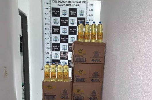 PI: Empresários são presos suspeitos de revender óleo de cozinha roubado