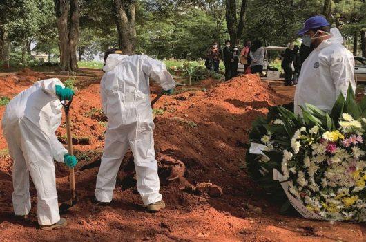 Covid-19: Brasil registra 1.175 mortes em 24 horas e passa de 104 mil