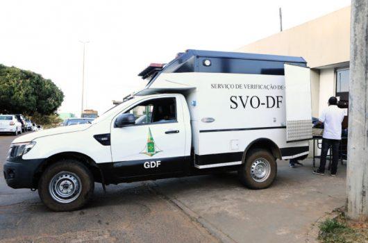 IML do Distrito Federal busca família de piauiense morto em via pública