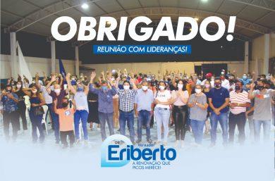 Dr. Eriberto Filho realiza encontro com aliados políticos e lideranças em Picos