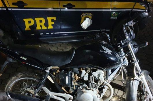 Motociclista bêbado é preso pela PRF em Picos
