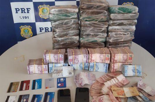 Suspeito de participar de sequestro de estudante é preso com droga avaliada em R$ 3 milhões