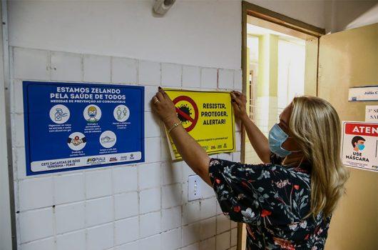 Seduc prevê retorno de 155 escolas; aulas presenciais iniciam nesta terça (20)