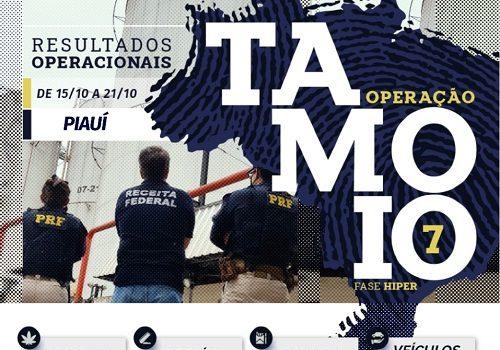 PRF realiza 39 prisões no Piauí durante a Operação Tamoio VII