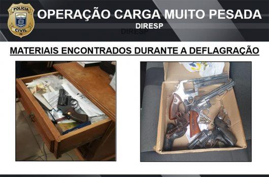 Operação da polícia de PE cumpre mandados de busca e apreensão em Picos