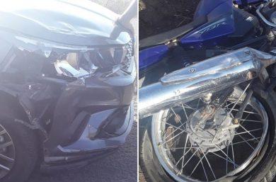 Monsenhor Hipólito: colisão entre carro e motocicleta mata homem na BR-020