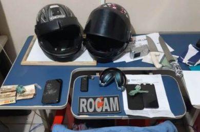 Picos: PM prende indivíduos por envolvimento em assaltos no centro da cidade