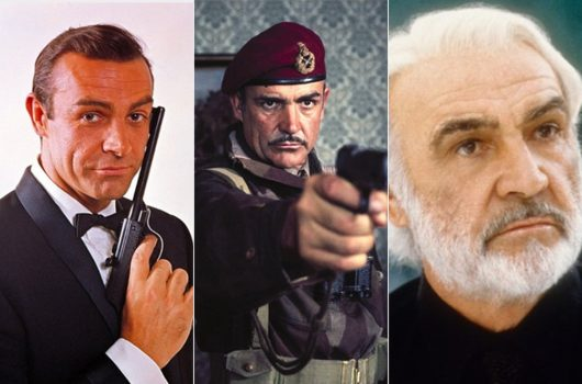 Sean Connery, ícone do cinema e 1º James Bond, morre aos 90 anos