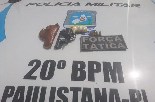Homem é preso em Paulistana por porte ilegal de arma de fogo