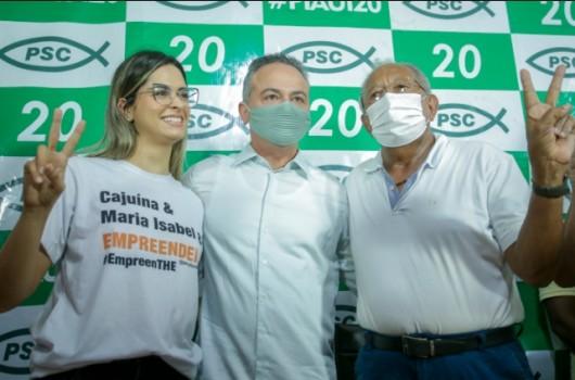 Gessy Fonseca do PSC oficializa apoio à campanha de Dr. Pessoa