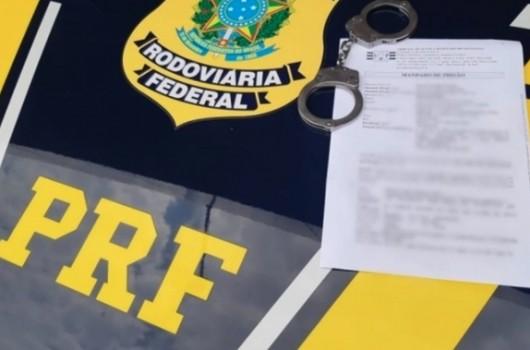 Foragido da Justiça de São Paulo é preso na BR 135