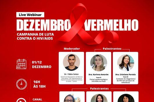 Dezembro Vermelho alerta para o aumento de casos novos de AIDS no Piauí