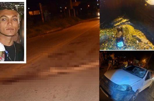 Jovem de 21 anos morre em acidente entre carro e moto em Paulistana