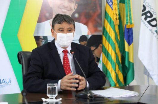 Wellington Dias descarta lockdown e apresenta plano para vacinação contra a Covid