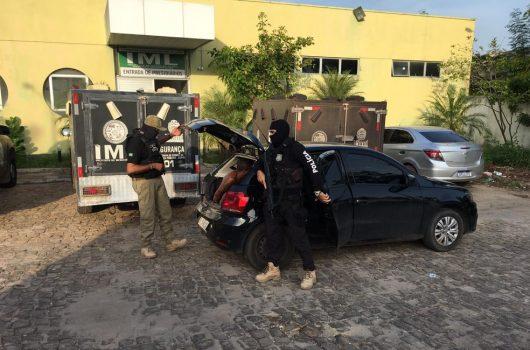 Operação cumpre mandados de prisão contra suspeitos de roubo, tráfico e homicídio em Teresina