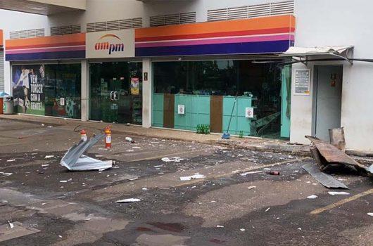 PI: bandidos explodem cofre de posto de combustíveis e roubam R$ 20 mil