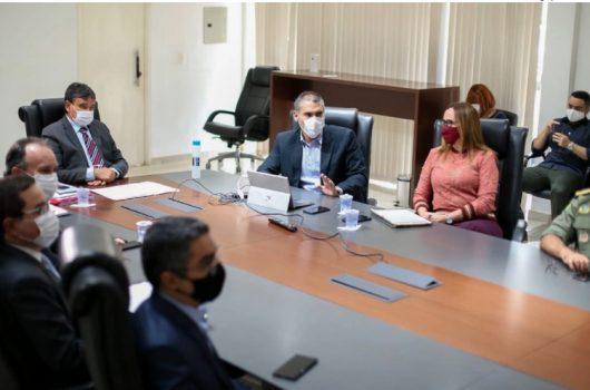Wellington Dias anuncia residencial com 500 apartamentos destinados a PMs