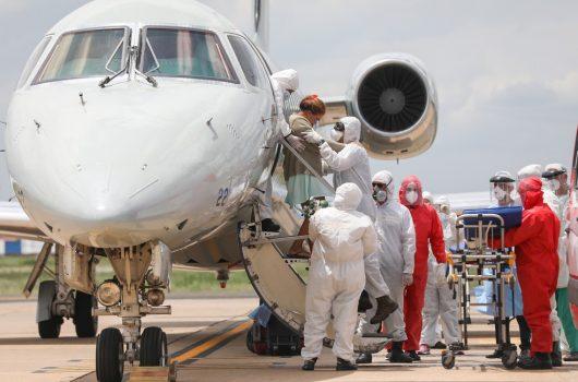 Nove pacientes de Manaus com Covid chegam a Teresina