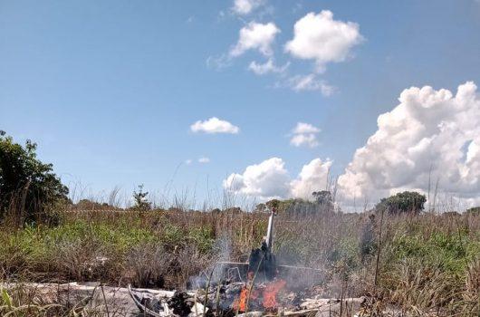 Acidente aéreo com delegação do Palmas cai no Tocantins e deixa seis mortos