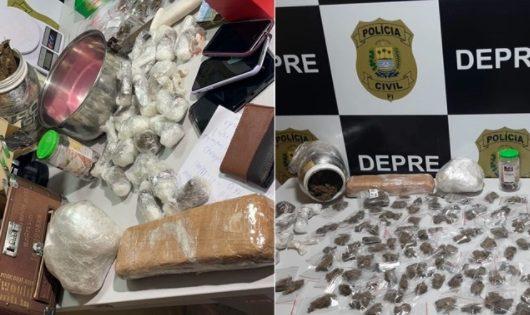 """Homem é preso com """"supermaconha"""" avaliada em R$ 200 mil em Teresina"""