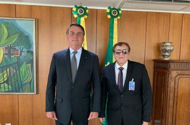 Bolsonaro se encontra com Mão Santa em Parnaíba nessa sexta-feira