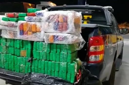 PRF apreendeu R$ 17 milhões em drogas nas rodovias federais piauienses