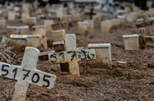 Com 1.726 mortes, Brasil tem dia mais letal da história da pandemia