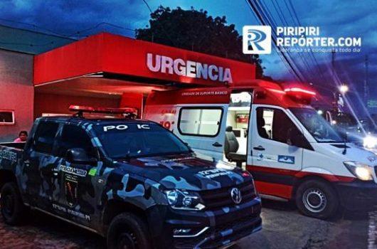 Homem é baleado e outro esfaqueado em noite conturbada em cidade do Piauí