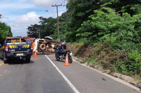 PRF registra redução no número de mortos nas rodovias no 1º trimestre no Piauí