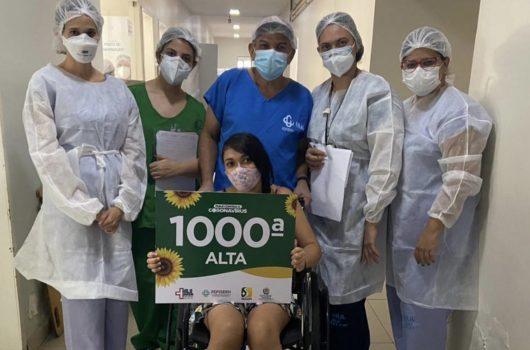 Em Picos, paciente de 27 anos é a milésima alta por Covid-19