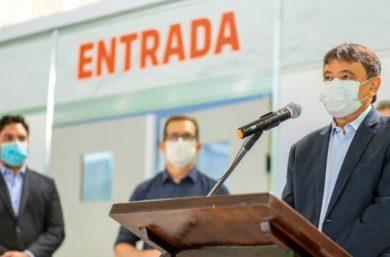 Wellington Dias explica o fechamento de hospitais de campanha