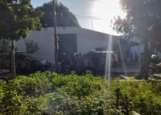 Após tiros, tropa de choque da PM entra no CEM para conter rebelião