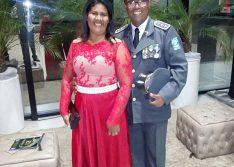 Capitão da PM do Piauí fica ferido e esposa morre em grave acidente