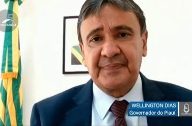 Na comissão da Covid-19, W. Dias mostra preocupação com vacinação no país