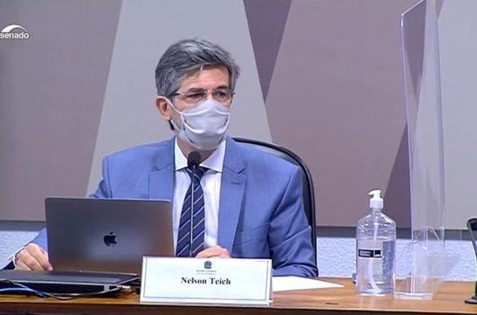 """Teich diz que pediu demissão diante do desejo do governo de """"ampliação do uso da cloroquina"""""""
