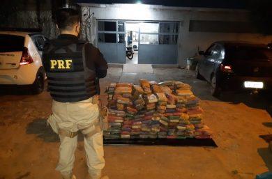PRF realizou  a maior apreensão de maconha da história em Picos