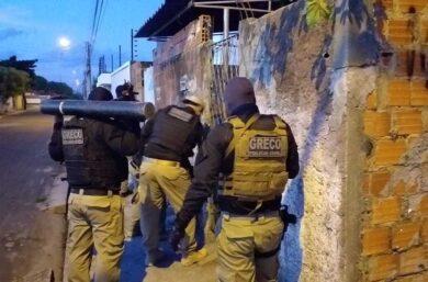 Operação cumpre mandados contra faccionados em várias cidades do Piauí