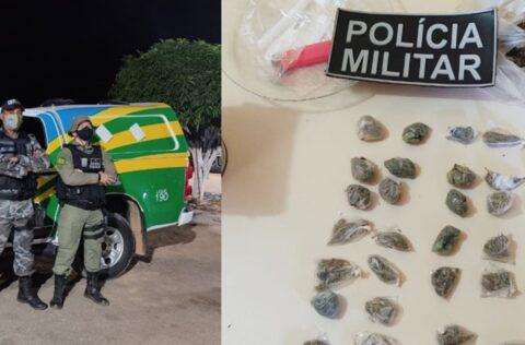 Paulistana: proprietário de bar é preso pela PM por tráfico de drogas