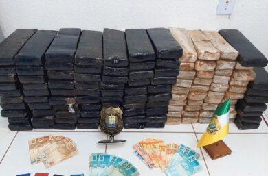 Homem é preso com grande quantidade de drogas no Piauí