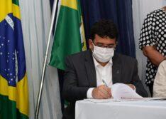 Rafael Fonteles autoriza obras em municípios do Vale do Itaim nesta quinta (22)