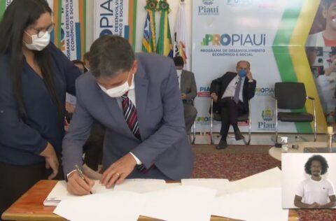 Governo do Piauí assina contrato de PPP para rodovia Trancerrados e Estrada Palestina