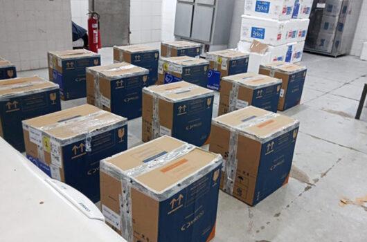 Piauí recebe vacinas para 3º dose em lotes com mais de 200 mil imunizantes