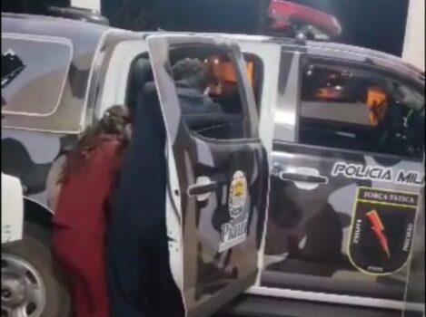 Bebê nasce dentro de viatura da Polícia Militar em Fronteiras