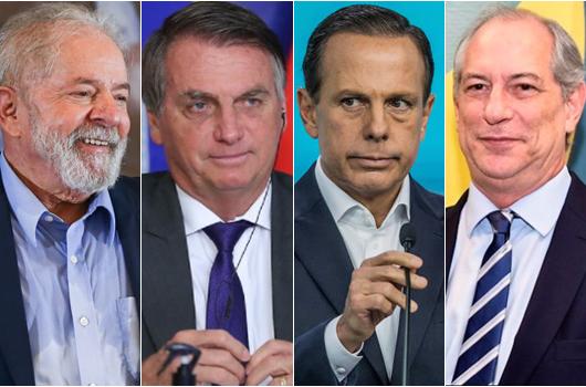 Datafolha mostra Lula no segundo turno com 25 pontos à frente de Bolsonaro