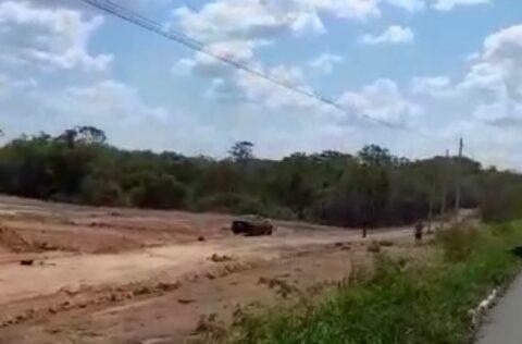Homem morre após em colisão com veículo na BR-343