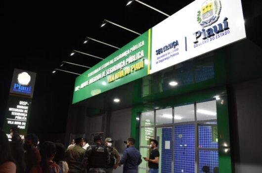 Vila Nova do Piauí ganha Centro de Segurança Integrado